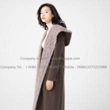 Cappotto in Cashmere Wavy Lady Water Wavy