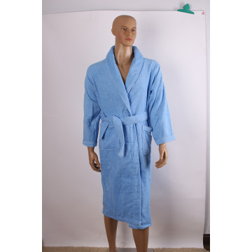 Czapki Mens Terry Cloth Robe Ręczniki Robe
