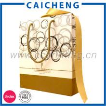 Bolsa de papel cosmética de embalaje de impresión personalizada