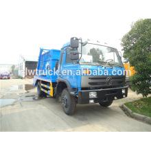 Dongfeng 8000L caminhão de lixo, caminhão de lixo contêiner venda no Kuwait