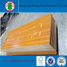 Puerta de madera maciza / puerta HDF / puerta moldeada