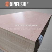 natural beech veneer MDF from China