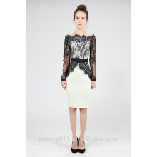 Long sleeve lace with long sleeves dress and a large pencil skirt PS06