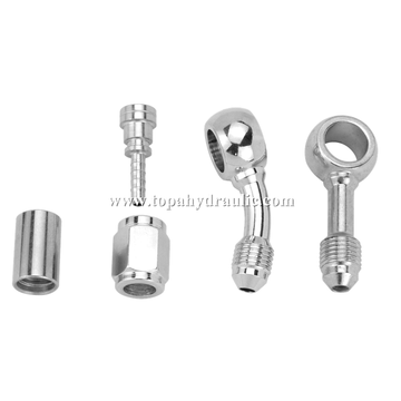 Fittings industriales del banjo del acero de carbono de Parker