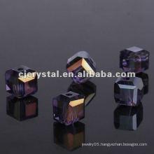 10mm flat square beads
