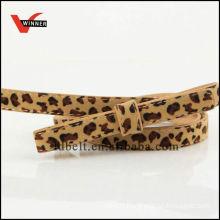 Factory OEM Women Fashion Leopard Belt