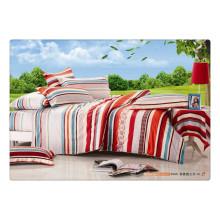 100 de algodón de 40s 128 * 68 suave de lujo de impresión de alta calidad de impresión cabritos duvet cubierta
