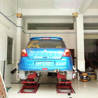 Quick Measure Wheel Alignment