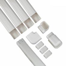 Conduit d'installation de climatiseur décoratif en PVC