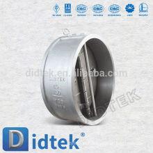Válvula de retenção de bolacha de placa dupla