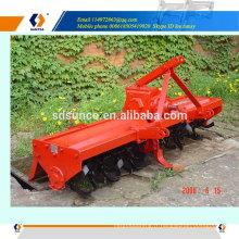 cultivateur de machine agricole, rotoculteur pour mini tracteur