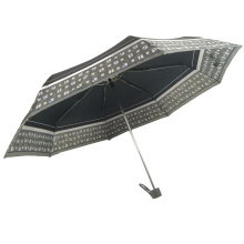 High quality new pattern design anti uv 3 folding umbrella cheap for fishing