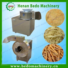 Pommes de terre semi-automatiques faisant la machine / machine de coupe de frites de pommes de terre 008613343868847