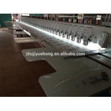 Máquina de bordar plana 39 cabeças para surat mercado