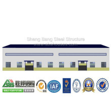 Low Cost Steel Frame Building Factory Workshop with Office