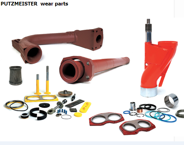 putzmeister concrete pump spare parts