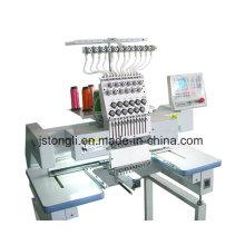 Máquina de bordar tubular do bordado do tampão da cabeça única (TLC-1201)