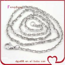 Proveedor de cadena de cadena de joyas de acero inoxidable