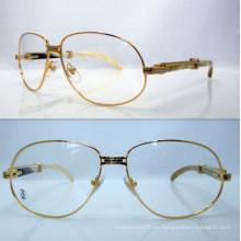 Ct Blanco Mezcla Amarillo Cuerno Bend Gafas / Ct Cuerno Gafas De Lectura / Ct Cuerno Marco