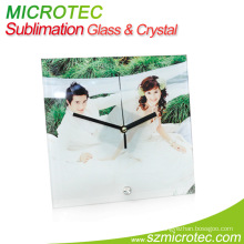 Glass Clock Frame - Square