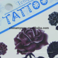 Etiqueta engomada temporal del cuerpo impermeable no tóxico, etiqueta engomada modificada para requisitos particulares del tatuaje