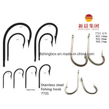 Silver Color Stainless Steel Fishing Hook 7731