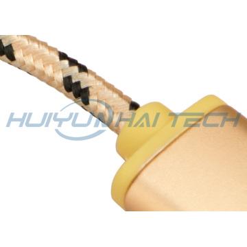 High Density PP Cotton Braided Sleeve