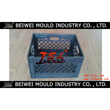 OEM Custom Injection Plastic Milk Crate Mould