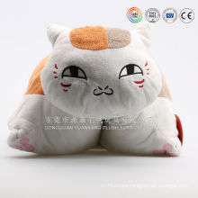 Custom cat shaped plush toys cushion