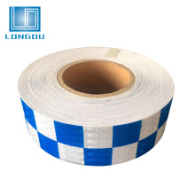 china suppliers reflective plastic tape sheet for traffic police uniforms