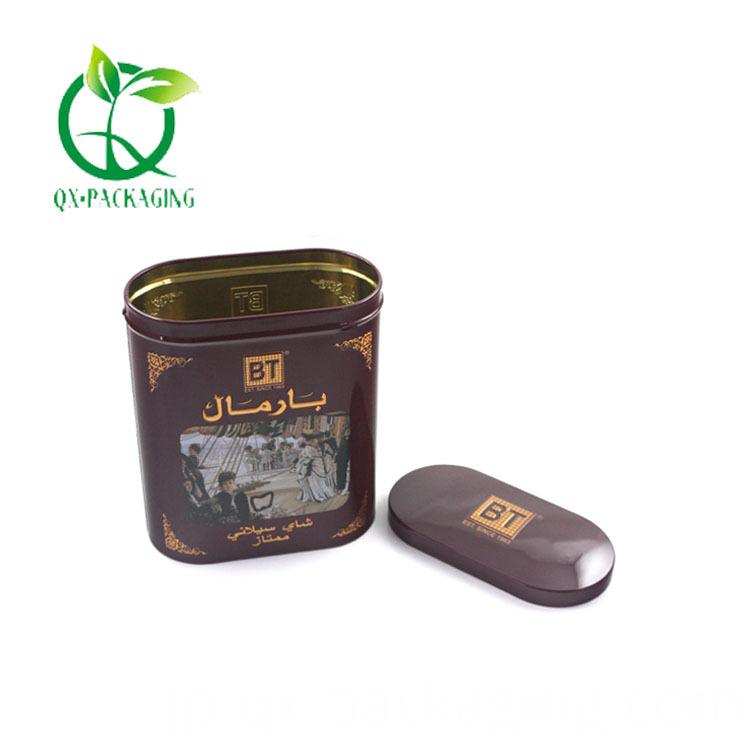 Decorative Tin Containers With Lids