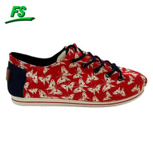 2015 new design printing fashion canvas shoes,canvas shoes