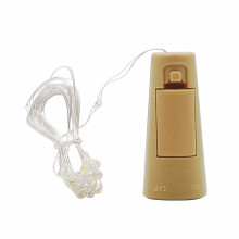 LED Bottle Stopper Light String 2Meter 20Leds Cork Wine Stopper Shaped For Home Decorative Christmas Holiday