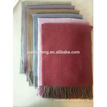 écharpe en laine à chevrons de haute qualité intérieure mongolie
