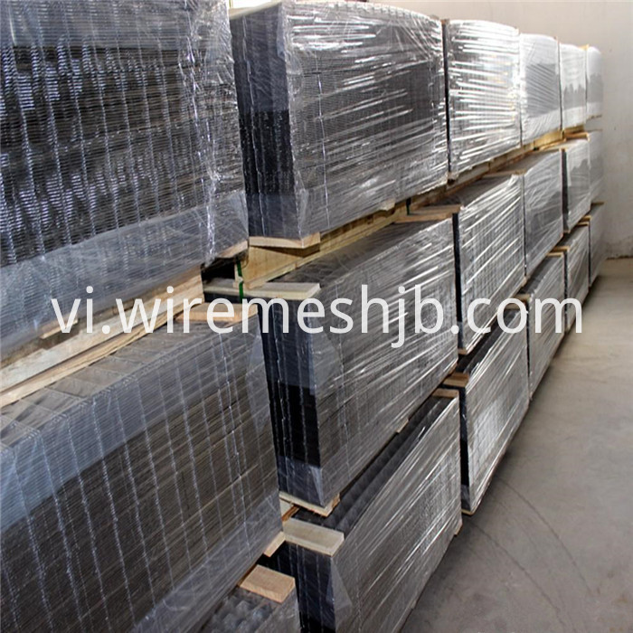 PVC Coated Welded Mesh Panels