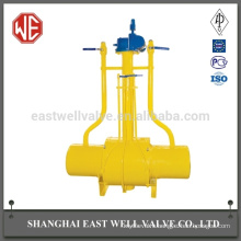 Butane valve fully welded ball valve