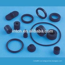 piezas de goma de fabricación de encargo de alta precisión