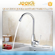 European long neck 3 way brass kitchen sink faucet
