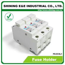 FS-033L1 110V Cylindrical Din Rail Low Voltage RT18-32 Fuse Base