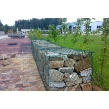 1X1X1, Gabion Box Stone Cage, High Zinc Galvanized Gabion Boxes / PVC Coated Gabion Baskets/ Stone Cage (direct factory)