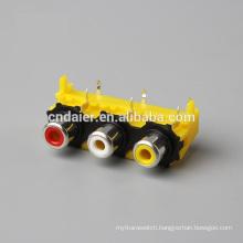 Best price mono connector/switch bnc/rca female socket audio