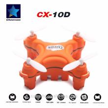 Cheerson CX10D orange 2.4GHz 4CH 6-axis Gyro Micro RC Helicopter Quadcopter RTF RCCX10D orange
