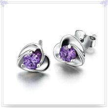 Кристалл ювелирные изделия серьги стерлингового серебра 925 ювелирные изделия (SE013)