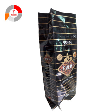 Custom Print Coffee Beans Bag Packing with Valve