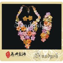 Conjunto de moda de jóias de design exclusivo da Sundysh