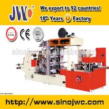 Máquina de la servilleta del tejido con la impresión de cuatro colores (CE aprobado)