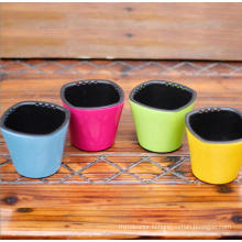 (BC-F1031) Fashionable Design Plastic Self-Watering Flower Pot