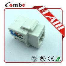 Proveedores de China UTP / FTP Pass Fluke prueba Cat5e / cat6 / cat6a jacks modulares rj45