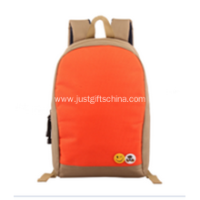 Promotional 600D Orange Color Backpack
