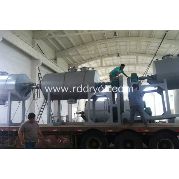 Low Price Vacuum Harrow Dryer for Drying Magnesium Carbonate